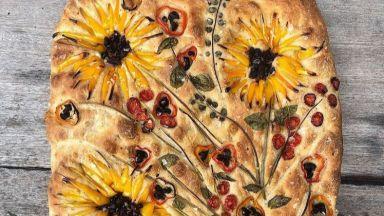 Тери Кулето създава хлябове, вдъхновени от картини на Ван Гог