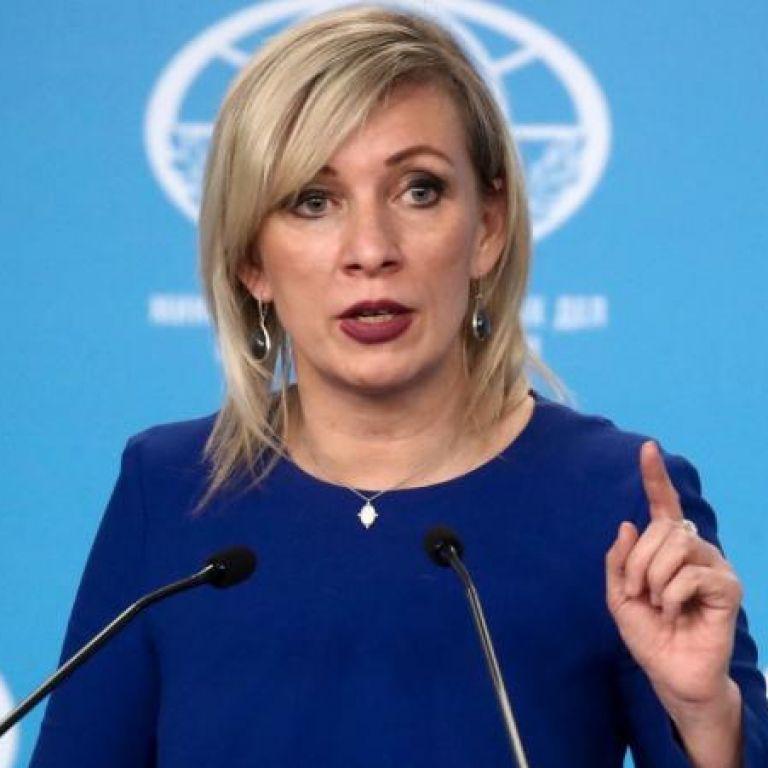 Мария Захарова, говорител на МВнР на Русия