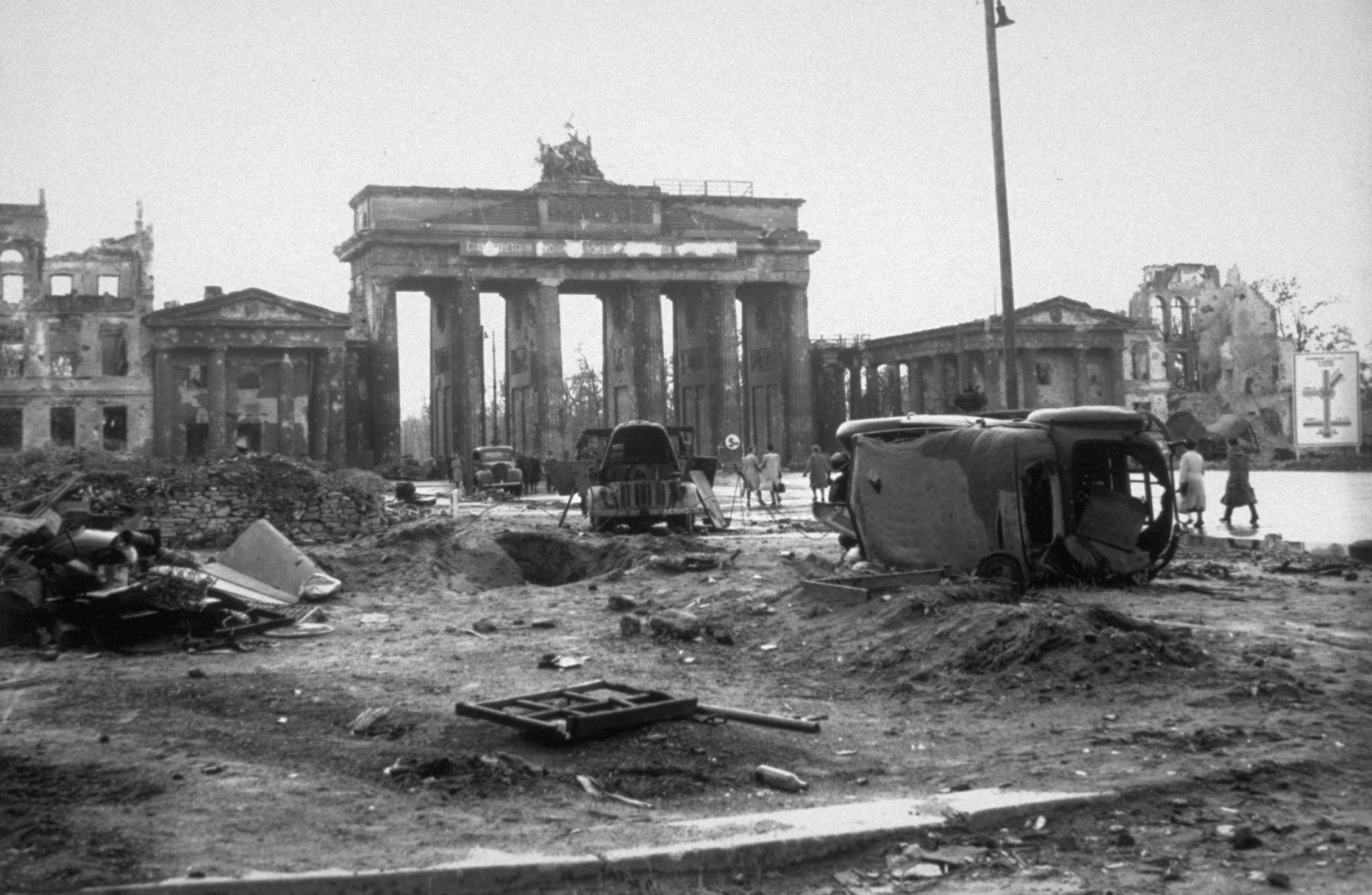 Кой победи нацизма в Европа?