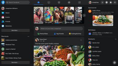 Facebook стартира въвеждането на тъмен режим и в мобилните си приложения