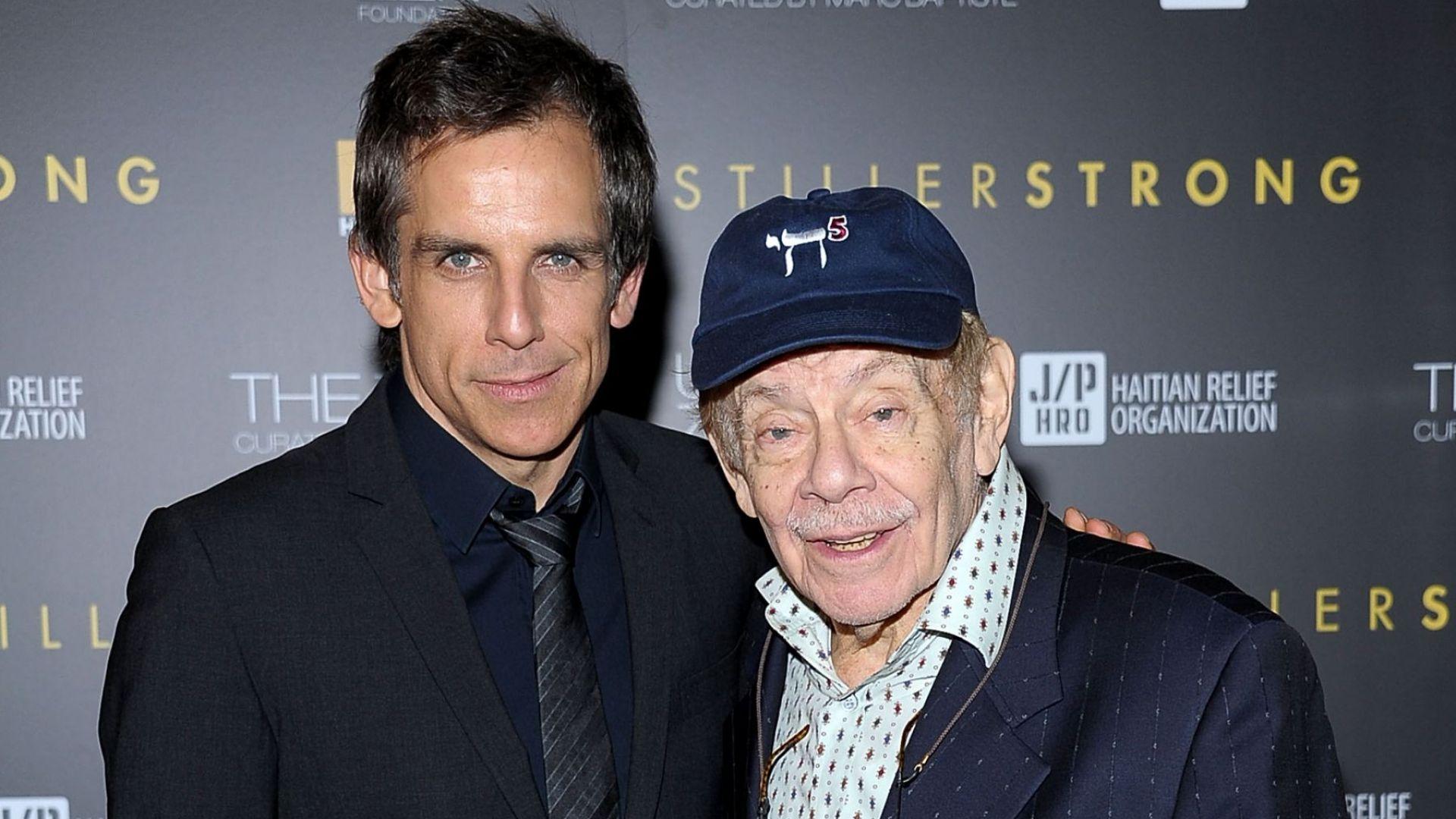 На 92 г. почина бащата на Бен Стилър