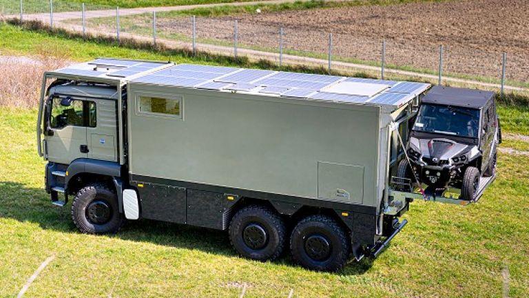 Unicat MD56c идва със соларни панели по покрива