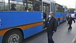 125 акта за пътуване без маска в градския транспорт за седмица в София