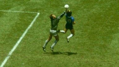 """Вратарят от """"Божията ръка"""": Диего бе велик, но не и спортсмен"""