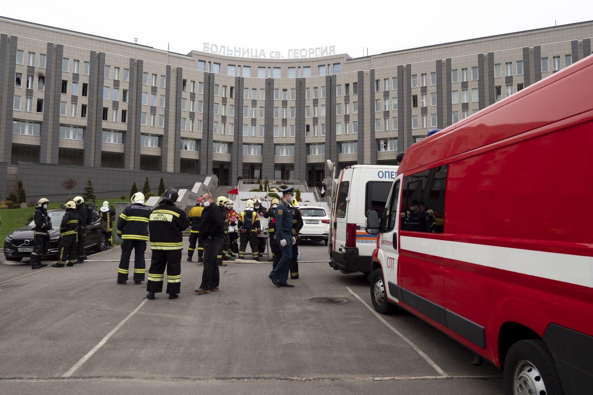 Пожарът в болницата избухна тази сутрин