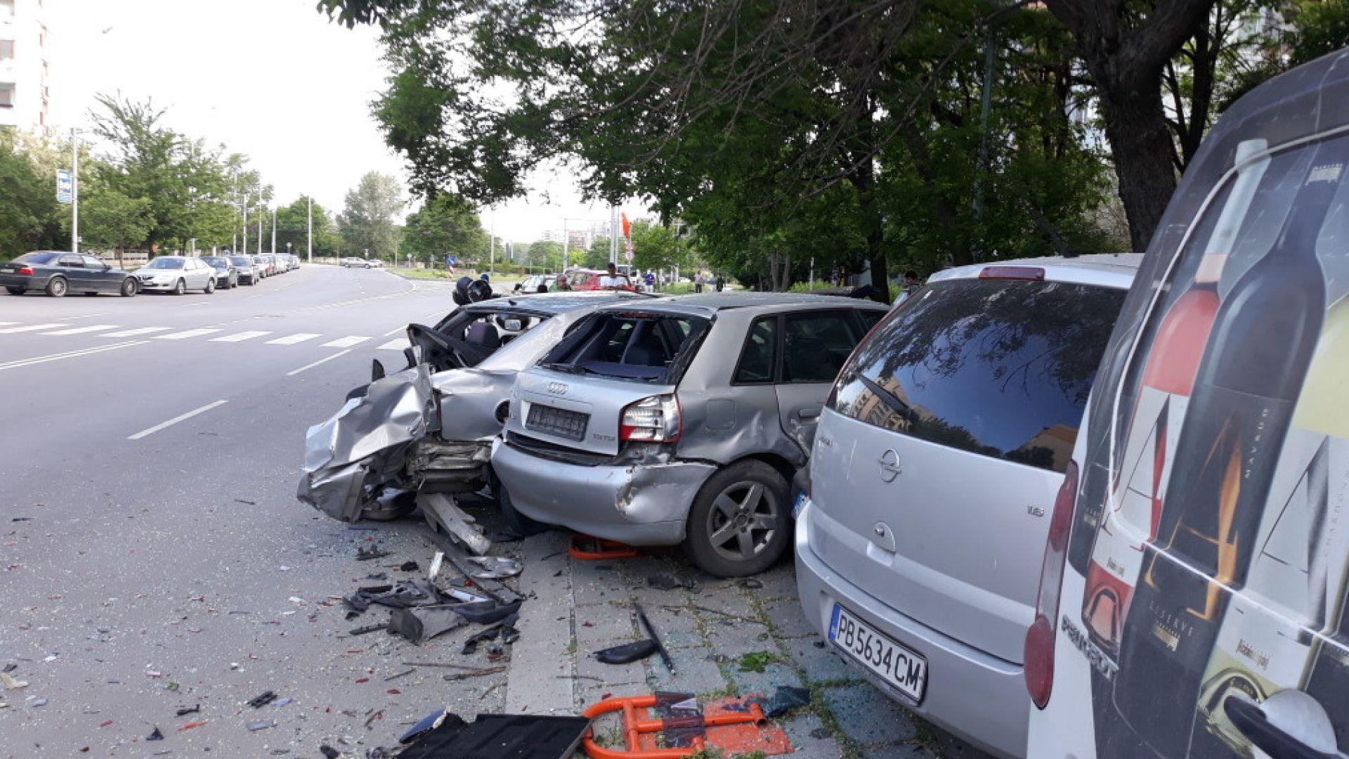 Пияният шофьор, помлял 5 коли в Пловдив, бил стар познайник на КАТ