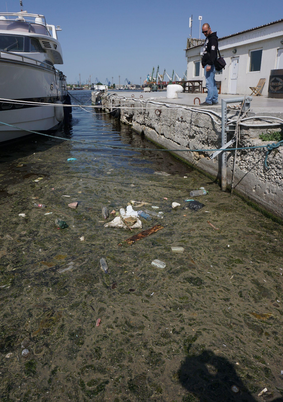 Фекални води на Морска гара