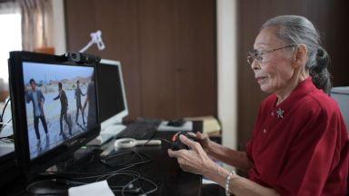 Най-възрастният геймър в YouTube е японка на 90 години