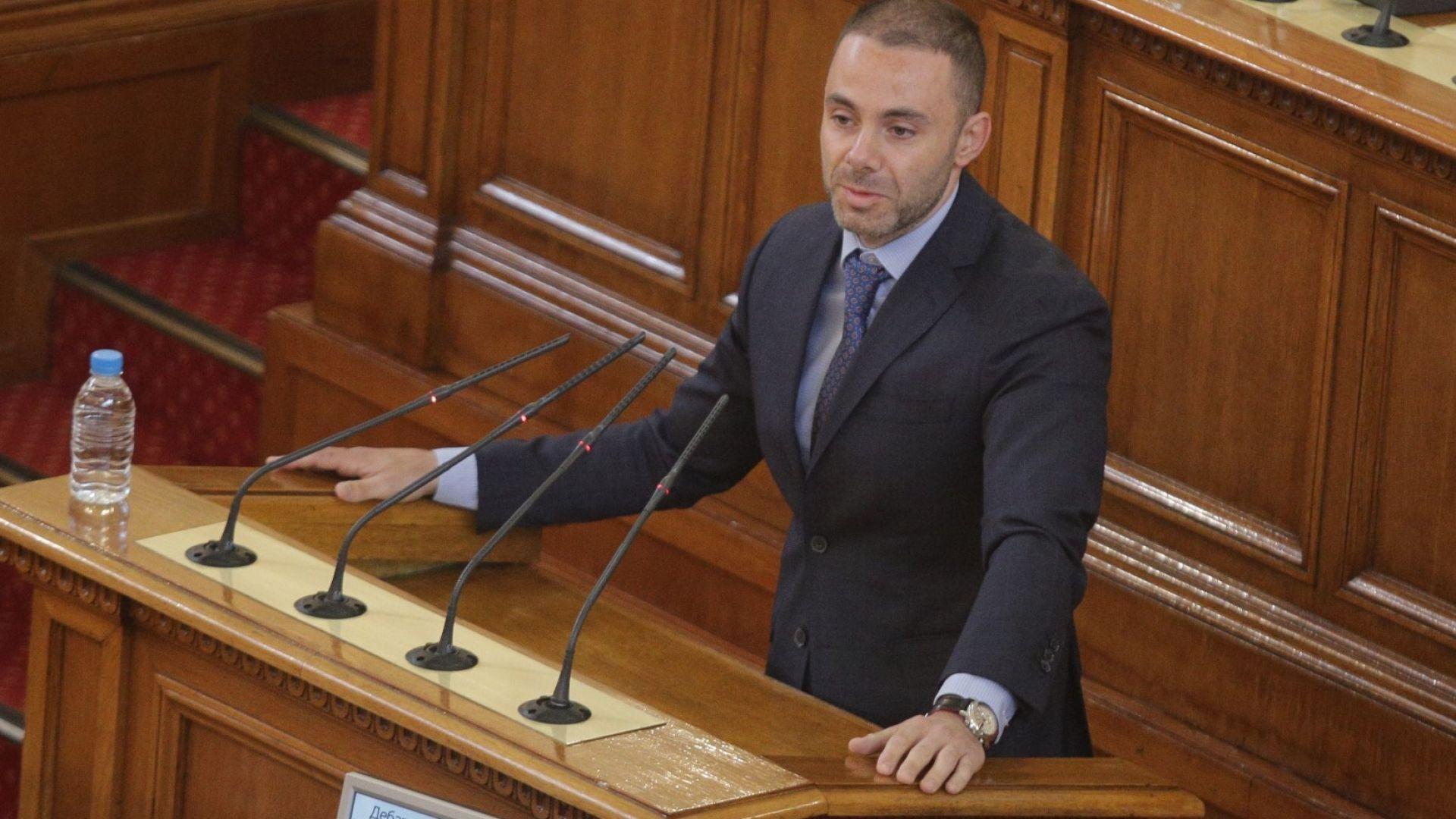 Александър Ненков, депутат от ГЕРБ