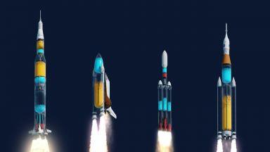 Любопитно видео ни разкрива повече за най-мощните американски ракети