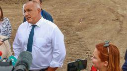"""Бойко Борисов: """"Балкански поток"""" върви в срок"""