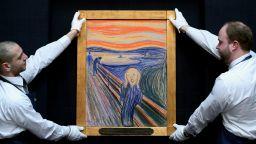 """Физици намериха начин да спасят картината """"Викът"""" на Едвард Мунк от обезцветяване"""