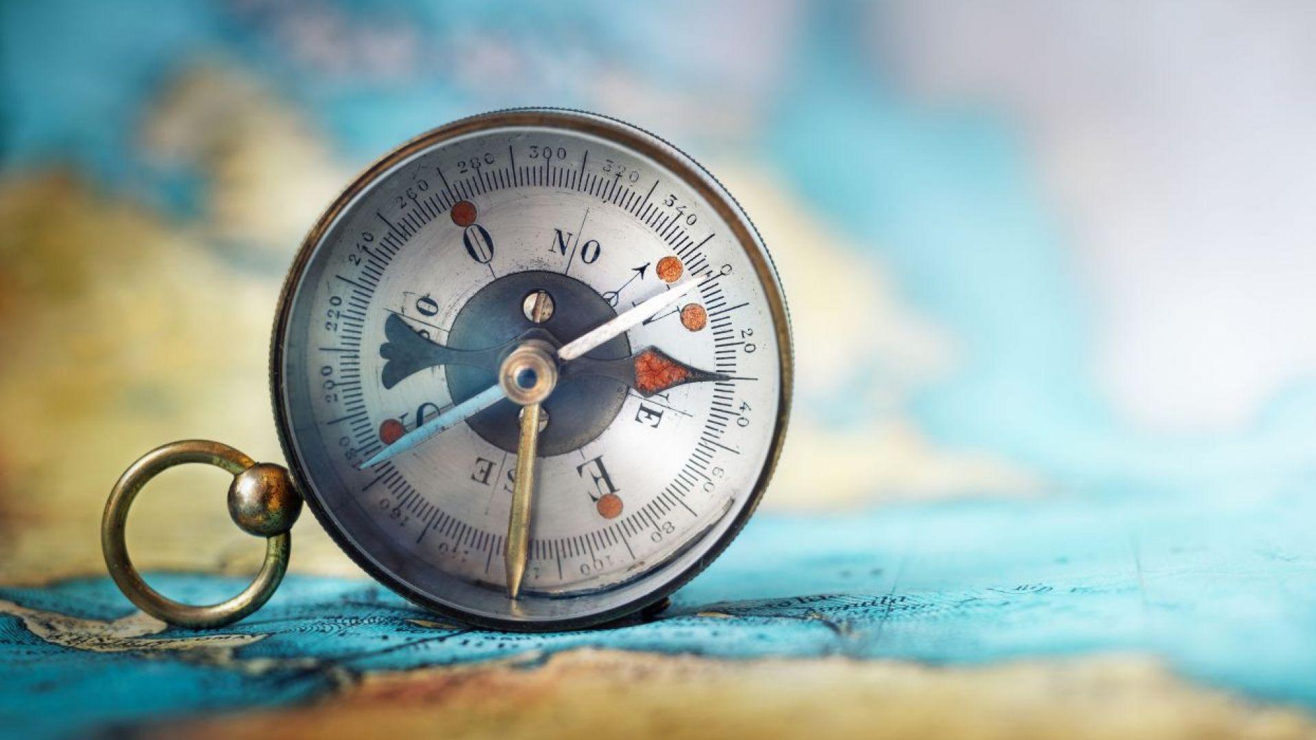 Северният магнитен полюс се измества към Сибир