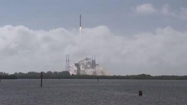 САЩ изстреляха ракета със секретен космически дрон