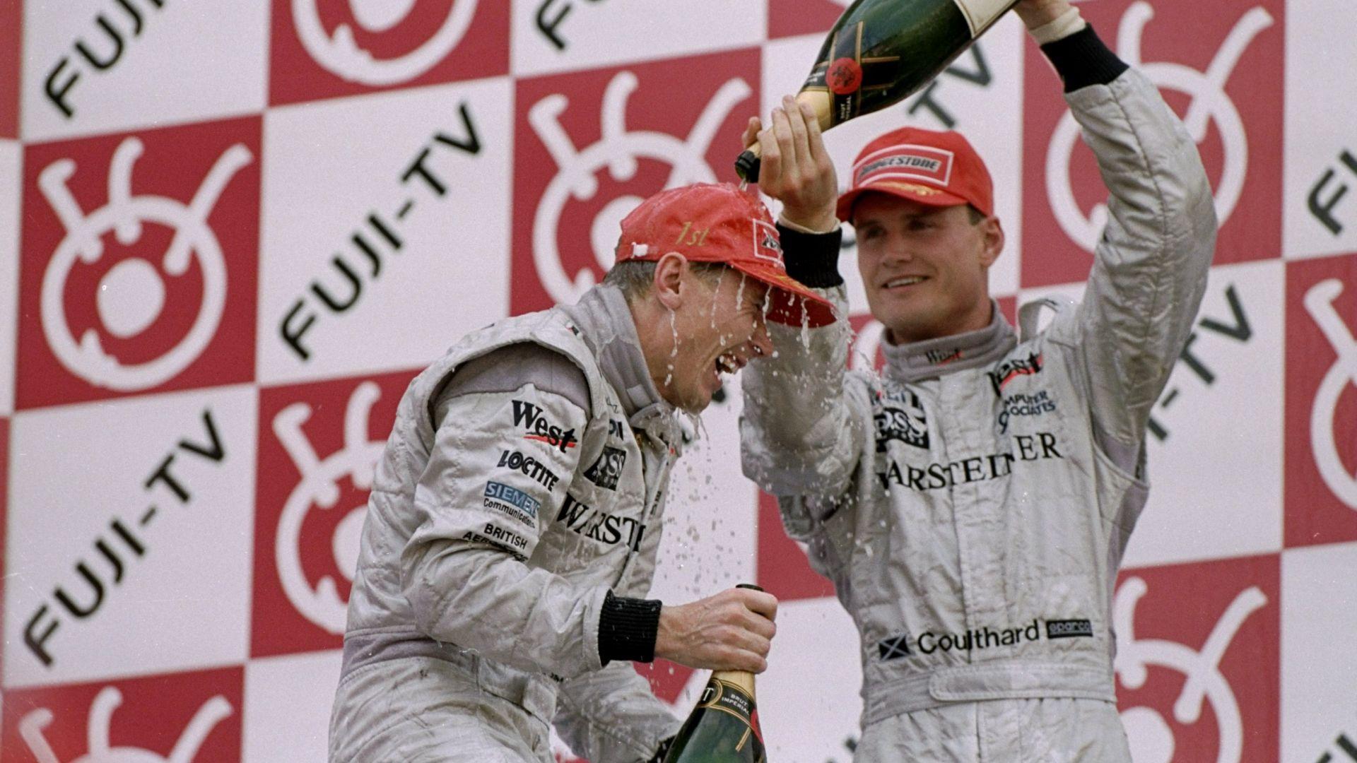 Първата победа на Хакинен във Ф1 била подарък от Култард
