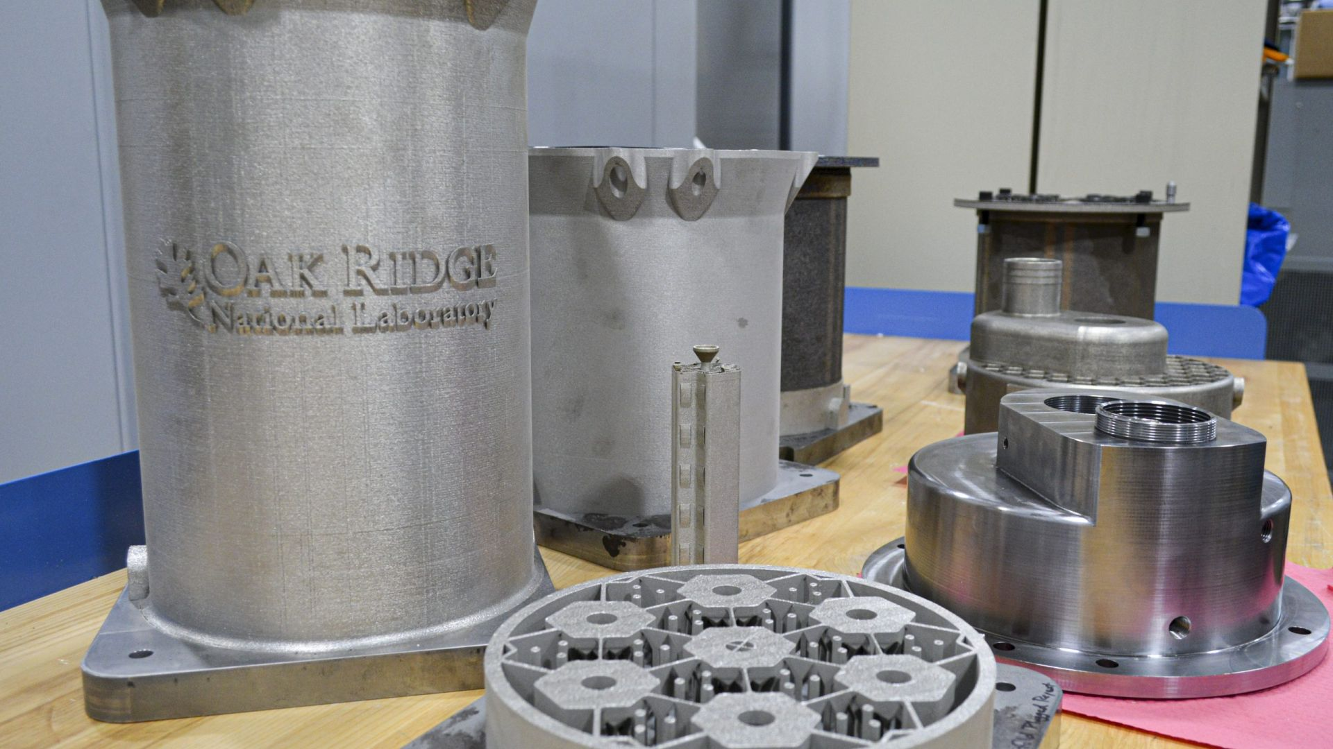 Правят ядрен реактор с 3D принтер