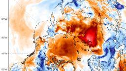 Екстремни температурни аномалии в Арктика и Сибир