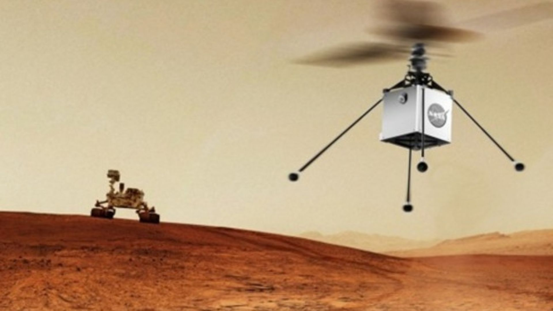 НАСА провежда първия полет в атмосферата на друга планета