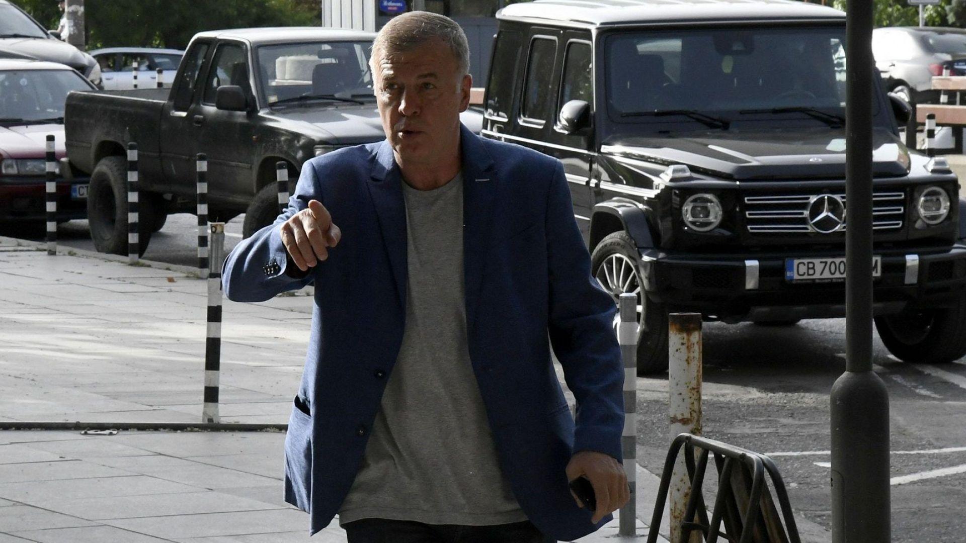 Наско Сираков е готов да получи акциите, благодари за мощната подкрепа