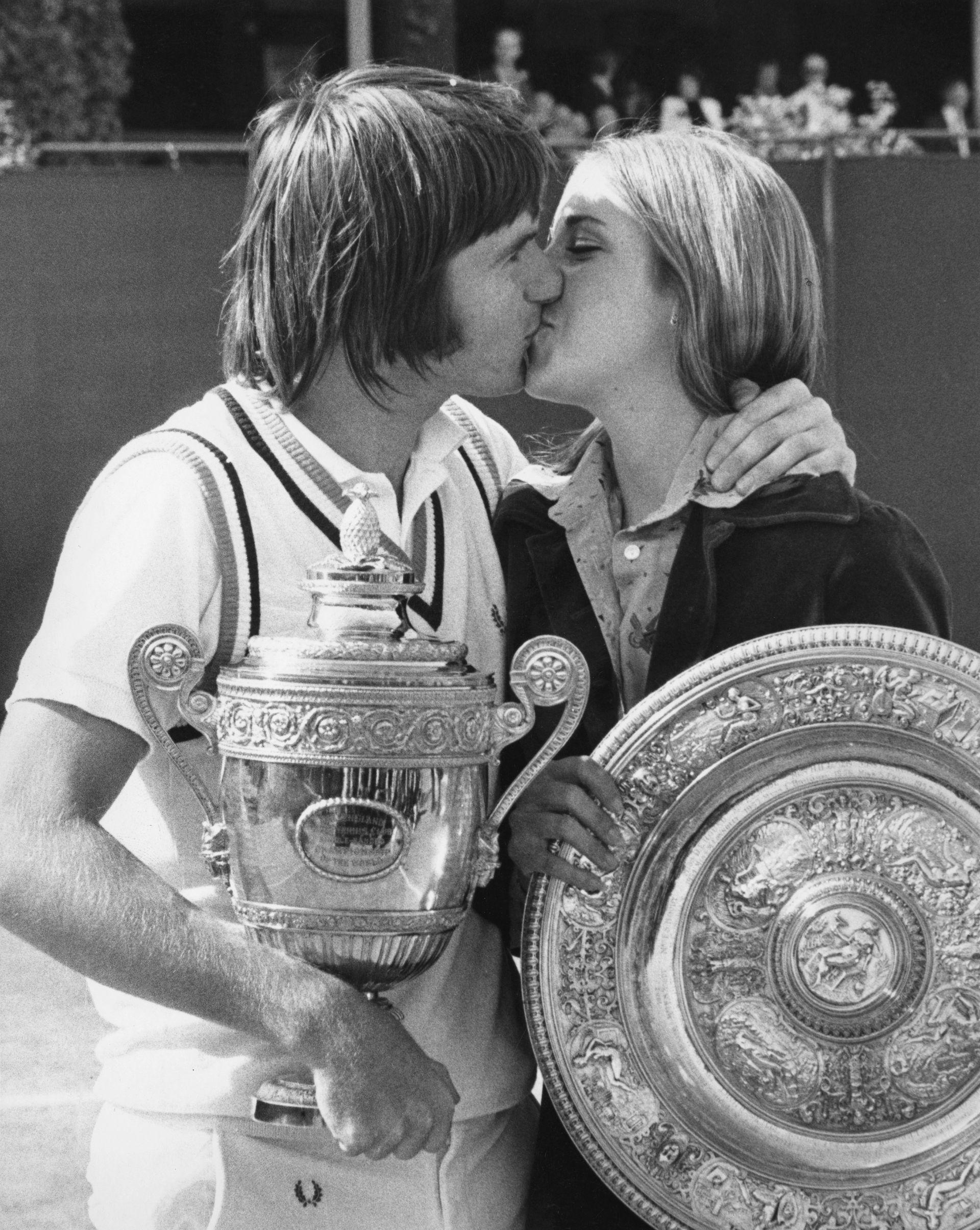 Първата искра - с Джими Конърс, младата и влюбена двойка на американския тенис