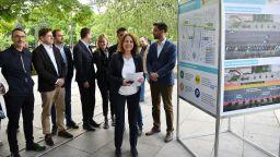 София се опасва с велоалеи заради коронавируса (снимки)