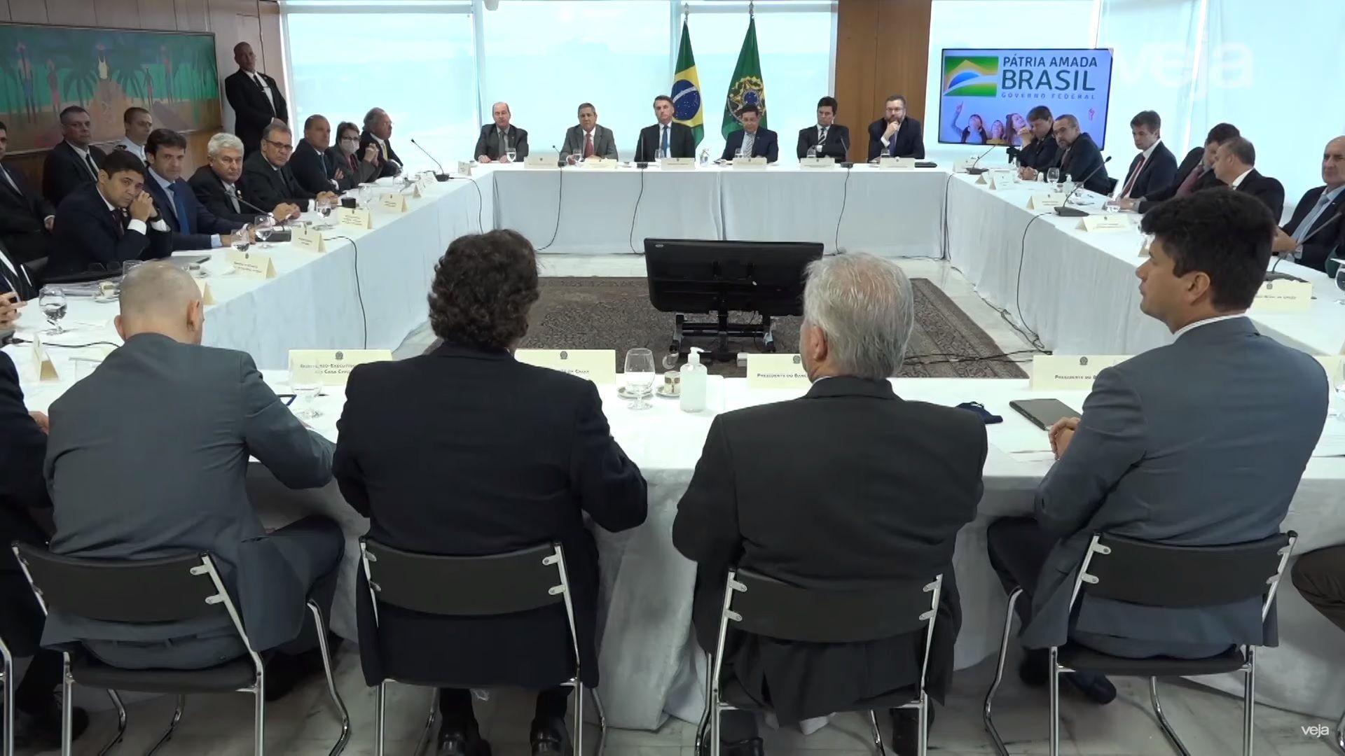 Видеозапис от заседание на бразилското правителство, разсекретен по нареждане на