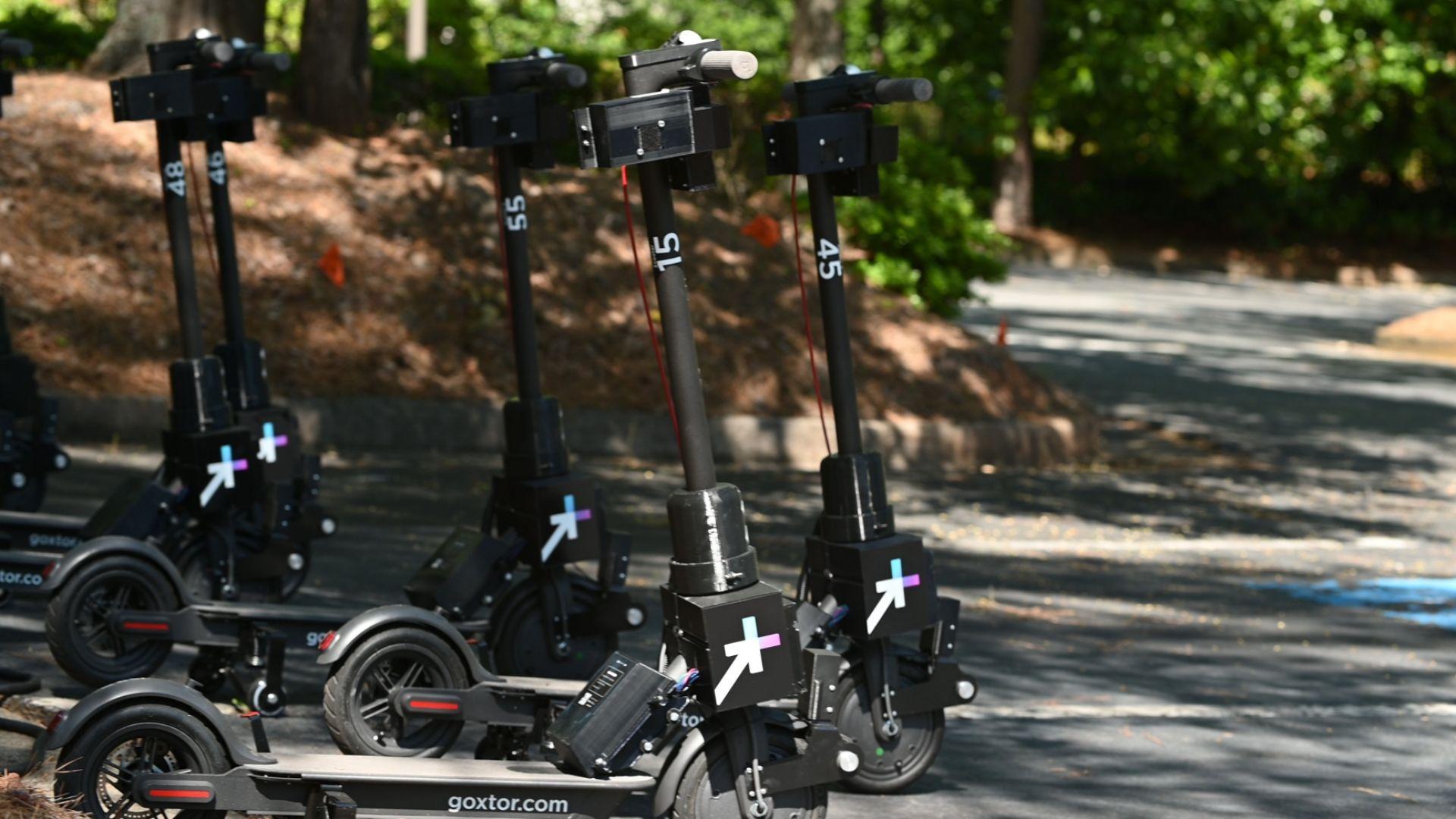 Новите електрически скутери за споделено ползване ще идват при потребителите сами