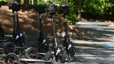 Новите скутери за споделено ползване ще идват при потребителите сами (видео)