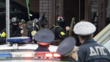 Спецчасти атакуваха похитител в банков клон в центъра на Москва