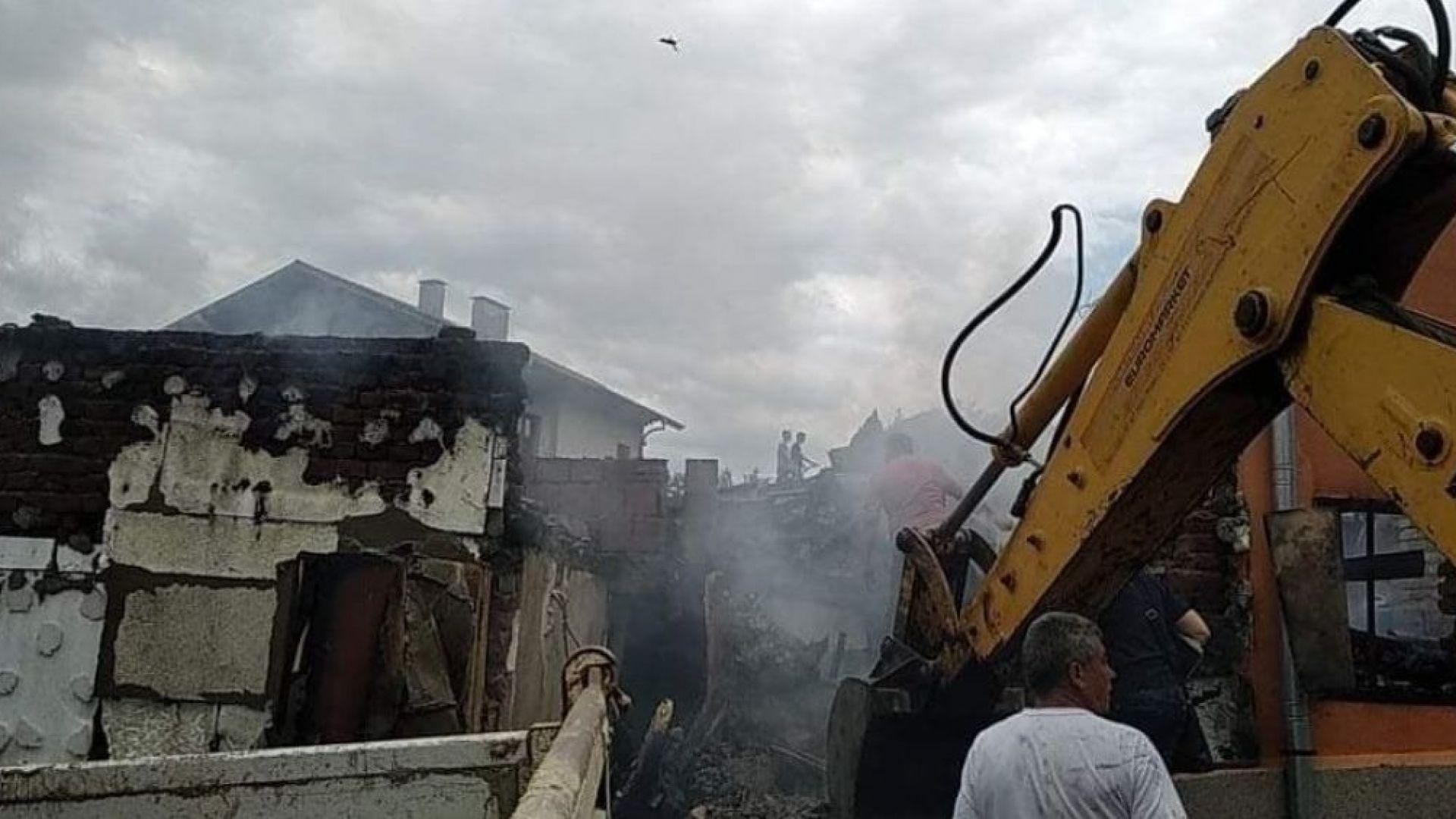 Пожар в Бобошево нанесе големи материални щети. Пострадали са три