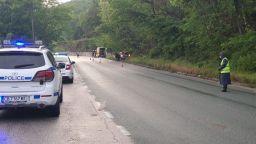 Шофьор загина пред очите на 7-годишното си дете при тежка катастрофа на Е-79