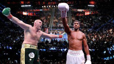 Джошуа и Фюри може да овакантят и четирите шампионски пояса заради битка за $200 милиона