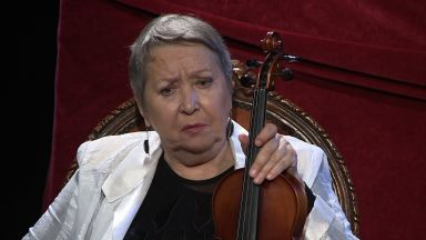 """""""Цигуларката на Бога"""" от Стефан Цанев - първата премиера на Телевизионния театър"""