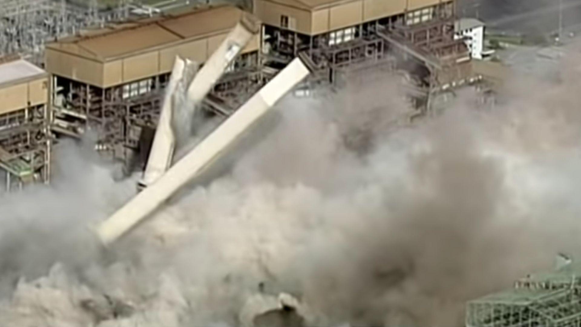 Австралия взриви най-замърсяващата си електроцентрала (видео)