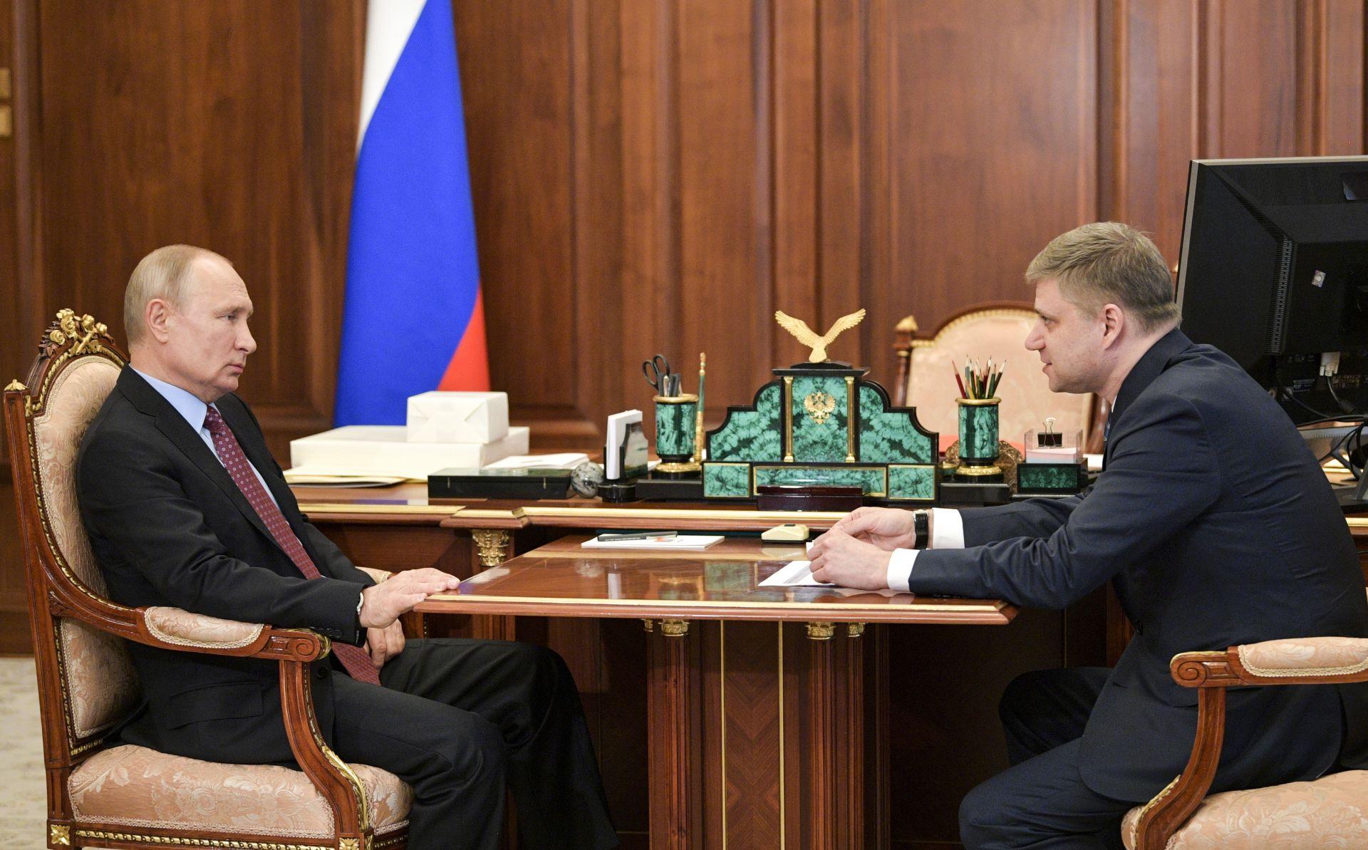 Путин и Белозеров
