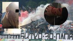 Арести и окървавен футболен фен след сблъсък с цивилни полицаи в Пловдив