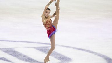 15-годишна руска фигуристка три пъти влиза в Рекордите на Гинес
