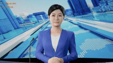 Синхуа добави още един цифров телевизионен водещ