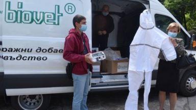 Братя Домусчиеви направиха още едно дарение за болници в Лудогорието