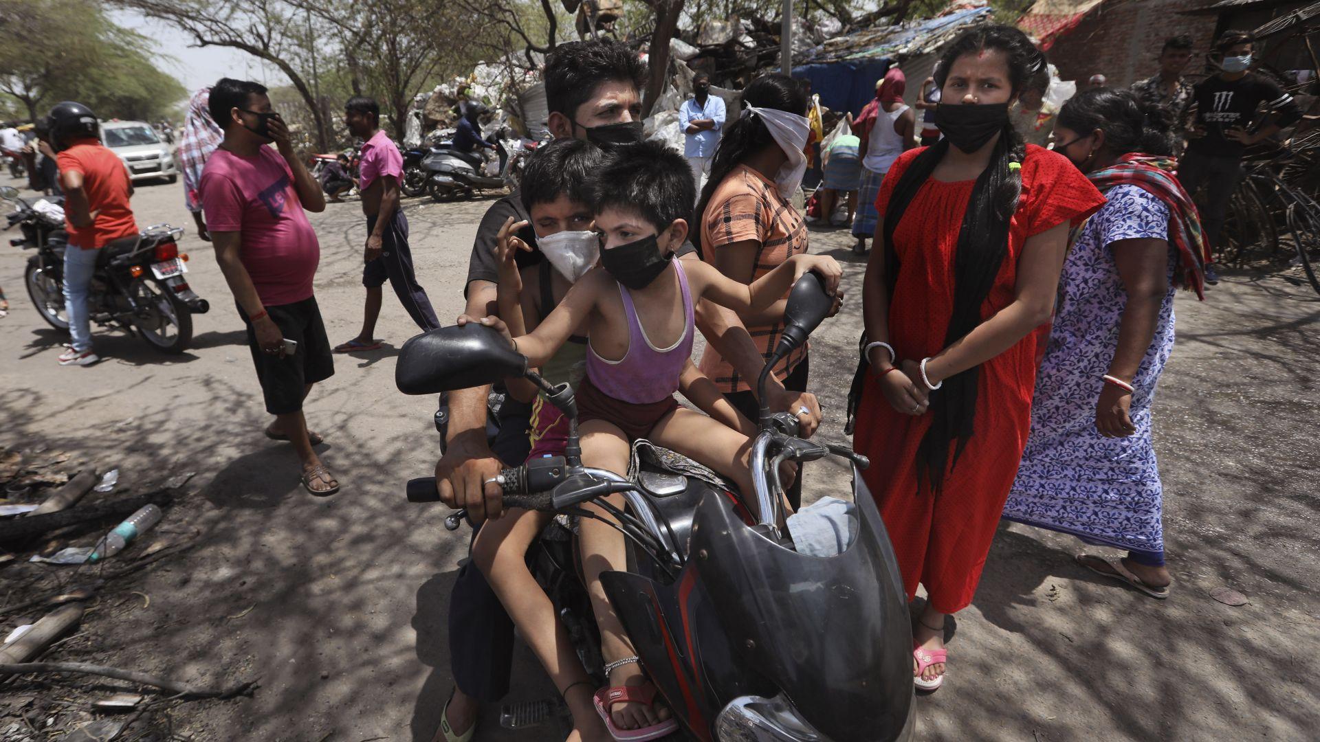 Температурите днес в Индия достигнаха 50 градуса, след като обширни