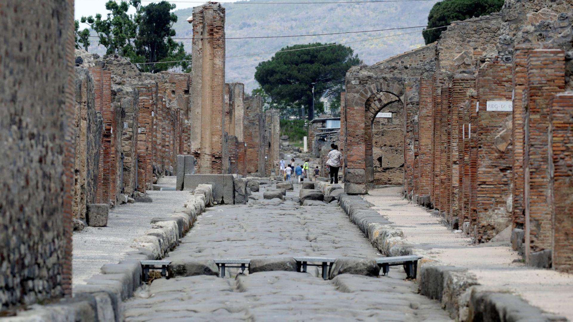 """Върнаха откраднати артефакти от Помпей, защото били """"прокълнати"""""""