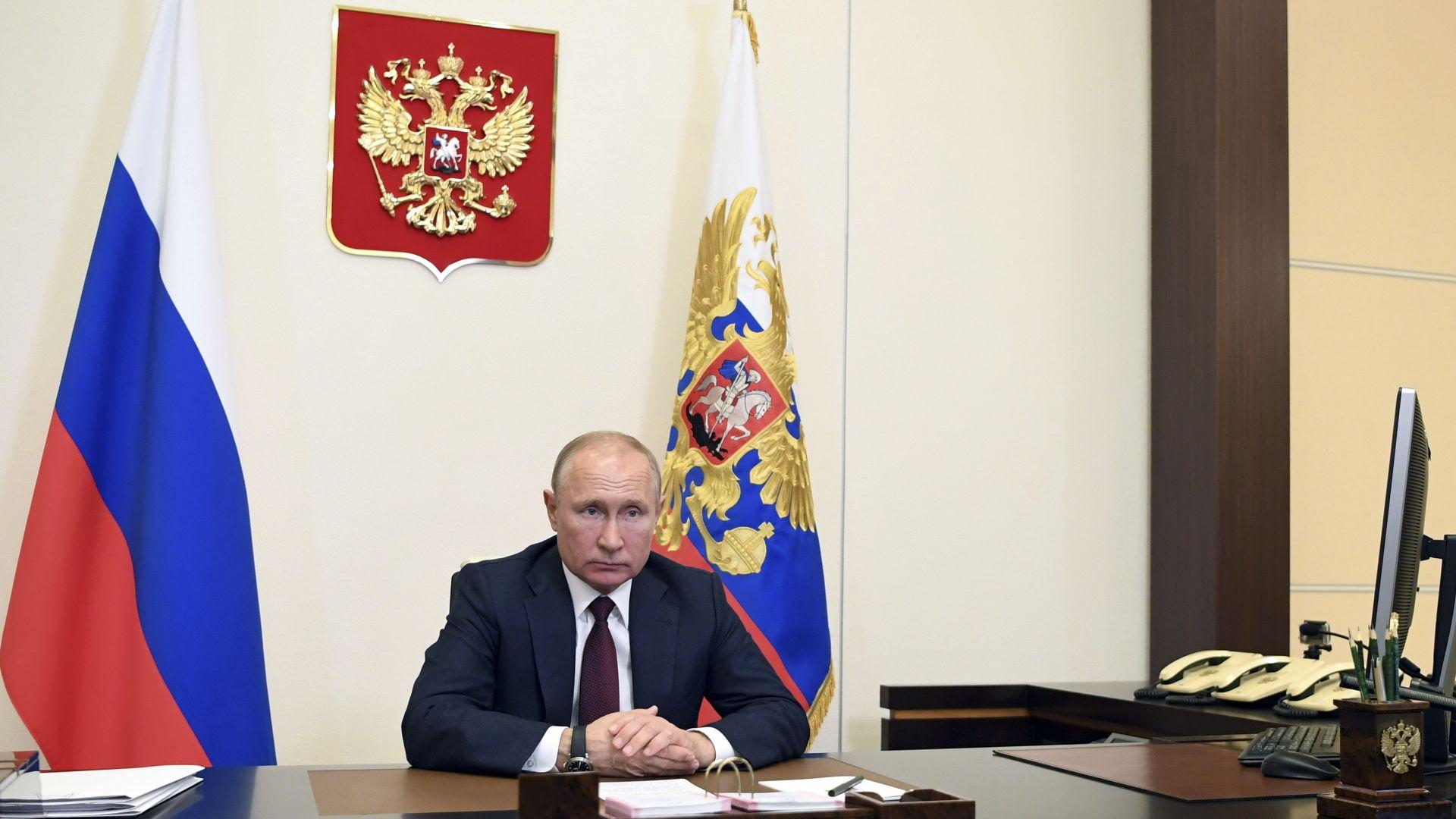 Руският президент Владимир Путин заяви днес, че Москва, станала водещо