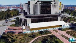НДК с единственото в София външно покрито пространство за провеждането на събития
