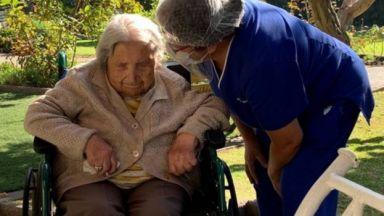 Чилийка на 111 години пребори COVID-19