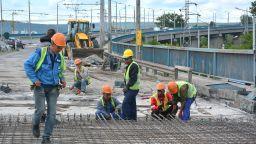 Вижте докъде стигна ремонтът на Аспаруховия мост (снимки)