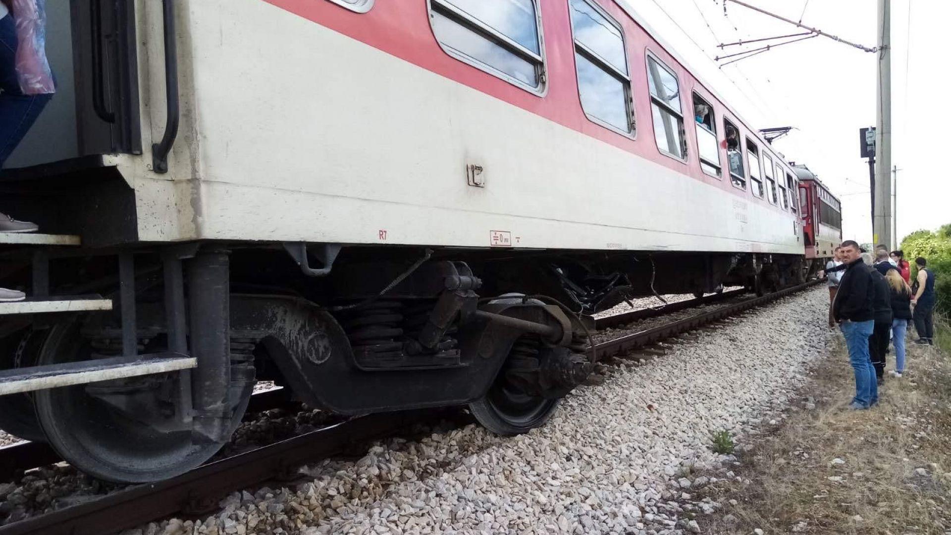 Пътнически влак прегази мъж в Кермен