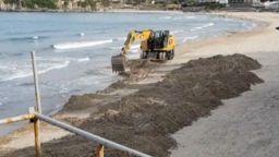 Разорават плажа на Созопол, но с разрешително
