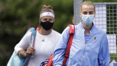 Тенисът с неуверени стъпки към завръщане, Квитова спечели титла в Прага