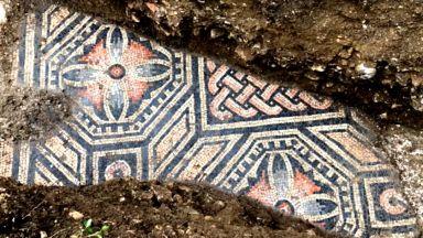 Древни римски мозайки бяха открити насред лозе в Италия