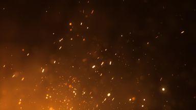 Голям пожар в зеленчуковата борса в Кърналово